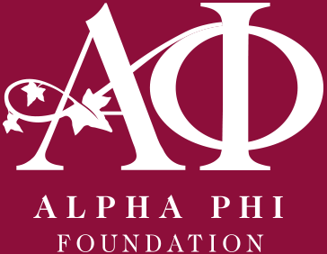 Alpha Phi Foundation logo
